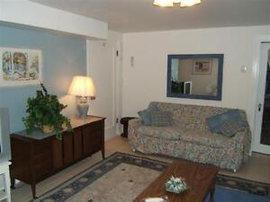 FURNISHED, ONE BEDROOM, PRIVATE ENTRANCE, NEAR TRANSIT