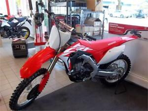 2017 Honda CRF450RH  SAVE $1000  NOW $8,999