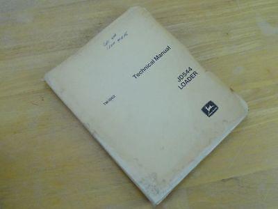 Oem John Deere 544 Front End Loader Service Repair Technical Manual Tm-1002