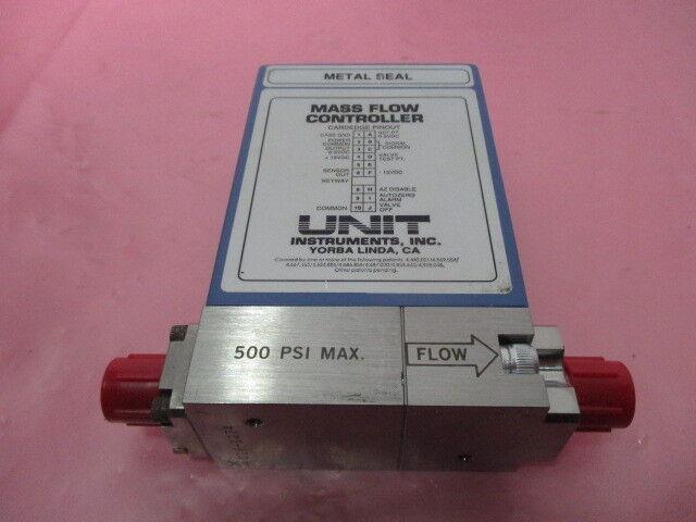 Unit Instruments UFC-1660 Mass Flow Controller, CF4, 100 SCCM, 424966
