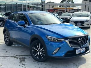 2017 Mazda CX-3 DK2W7A sTouring SKYACTIV-Drive Blue 6 Speed Sports Automatic Wagon Palmyra Melville Area Preview