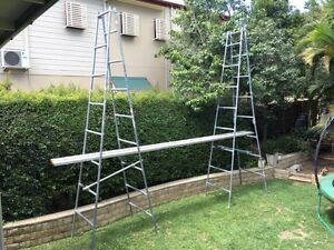 Scaffolding/ Trestles and Planks Greenslopes Brisbane South West Preview