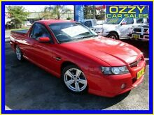 2004 Holden Commodore VZ SS Red 4 Speed Automatic Utility Minto Campbelltown Area Preview