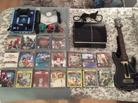 Used PS3 + 18 Games + Accessories - Excellent Condition