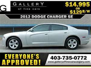 2012 Dodge Charger SE $129 bi-weekly APPLY NOW DRIVE NOW