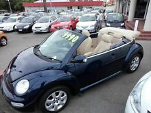 2004 Volkswagen Beetle Leather FULL SERVICE Blue 5 Speed Manual Convertible Victoria Park Victoria Park Area Preview