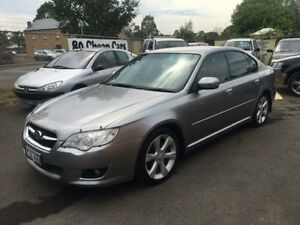 2008 Subaru Liberty MY08 2.5I Silver 4 Speed Auto Elec Sportshift Sedan Campbelltown Campbelltown Area Preview
