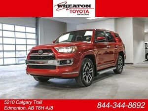 2014 Toyota 4Runner LIMITED, NAVIGATION, LEATHER, HEATED & COOLE