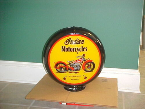 MOTORCYCLE GAS PUMP GLOBE