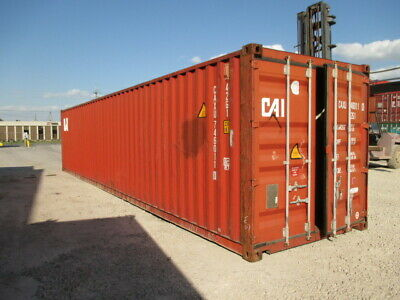 Used Shipping Storage Containers 40ft Wwt Savannah Ga 3900