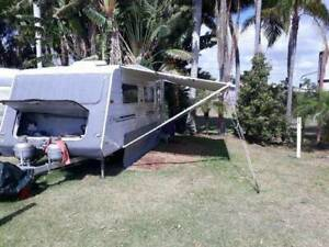 **price reduced** 2003 Ltd Edition 20ft Compass Caravan $19 900