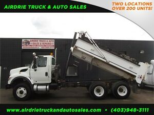 2011 International 7500 SBA TA Dump Truck !! CVIP & Inspected!!