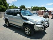 2006 Toyota Landcruiser Prado GRJ120R GXL Silver Automatic Wagon Rosslea Townsville City Preview