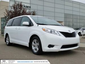 2012 Toyota Sienna LE 8 PASS/BACK UP CAMERA/ACCIDENT FREE