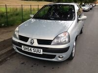 2004 RENAULT CLIO 1.2 - ONLY 67'000 MILES, M.O.T'D TILL JUNE 2017