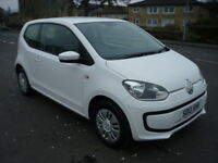 Volkswagen Up 1.0i 12V 60BHP MOVE UP! **One Owner / £20 Yearly Tax** (white) 2013