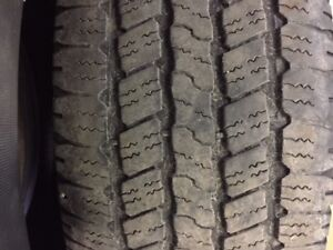 Tires for sale $50.00 each / chaque