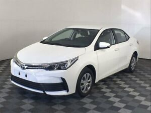 2018 Toyota Corolla ZRE172R Ascent S-CVT White 7 Speed Constant Variable Sedan Arndell Park Blacktown Area Preview