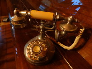 Vintage Telephone- Perfect Display Collector Piece- Singapore
