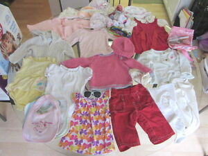LARGE LOT GIRL'S BABY/CHILD CLOTHES- Nonsmoking/no pets! Quality