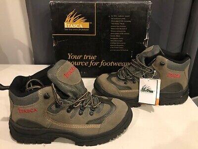 Itasca Nylon Boot (Itasca Brazil Waterproof Hiking Boots Leather Nylon Mens 10 #452380 NIB New )