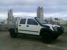 2011 Isuzu D-MAX MY11 SX White 5 Speed Manual Cab Chassis Southport Gold Coast City Preview