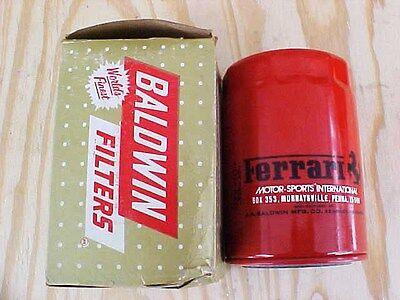 Ferrari Oil Filter Baldwin 250 275 330 By Pass Filter B254 OEM