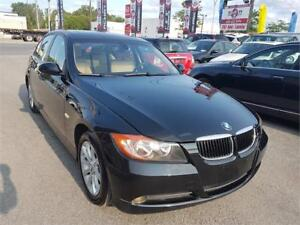 2008 BMW 323i, CUIR, TOIT, MAGS, MANUAL ** 1 AN DE GARANTIE **