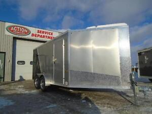 SNOWMOBILE TRAILER SPECIAL - DRIVE IN/OUT -LOTS OF FREE UPGRADES London Ontario image 2