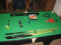 6'x3' snooker/pool table
