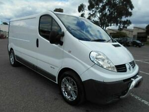 2009 Renault Trafic L2H1 2.0 DCI LWB White 6 Speed Automatic Van Maidstone Maribyrnong Area Preview