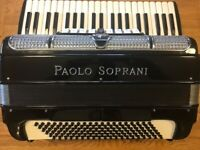 S/Hand Paolo Soprani 120 Bass Accordion