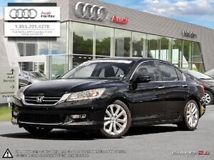 2013 HONDA ACCORD LEATHER, REARVIEW CAMERA, SUNROOF, NAVIGATION,