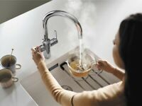 Blanco Tampera Instant Boiling Hot Water Single Lever Kitchen Mixer Tap