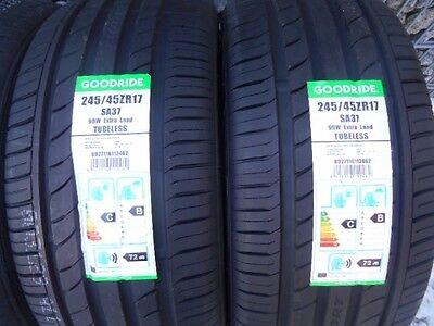2 Sommerreifen 245/45 ZR17 99W GOODRIDE Mercedes E-Klasse W212