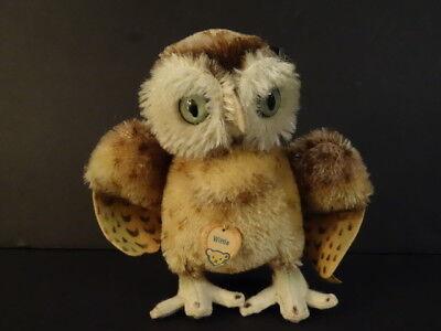 Vintage Steiff Wittie The Owl #4314