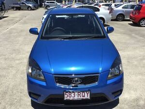 2011 Kia Rio JB MY11 S Blue 5 Speed Manual Hatchback Currimundi Caloundra Area Preview