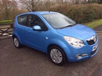 Vauxhall agila 1.2 i ecoflex auto 2013 cat D Immaculate Condition 1 year mot Only 8568 mileage