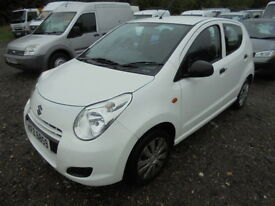 Suzuki Alto 1.0 SZ, LOW MILES, ROAD TAX £0, ONE OWNER FROM NEW (white) 2012