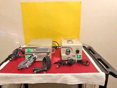 Olympus Otv-sc Endoscopy Video System With Light Source Clk-4 Clh Sc Cam Head