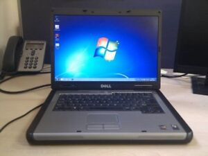 "RELIABLE DELL DUAL CORE 15.4"" LAPTOP,DVD BURNER,WIFI,W7-$120/OBO"