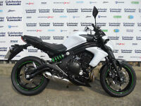 "Kawasaki ER6N ""65 Plate"" X Demonstrator 0% Finance Available"