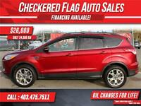 2013 Ford Escape SEL W/ Heated Leather-Sunroof-Nav
