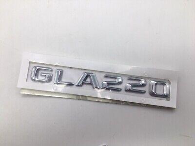 Heck Stamm GLA220 Schriftzug Chrom Abzeichen für Mercedes Benz GLA Klasse