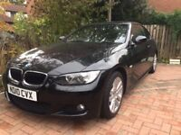 BMW 320D coupe, M sport package, manual,sapphire black, red leather,