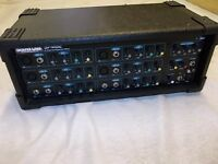 MIXER, PA AMP, 6 CHANNEL AMPLIFIER, IN EXCEPTIONAL CONDITION AND FULLY WORKING, NEVER GIGGED