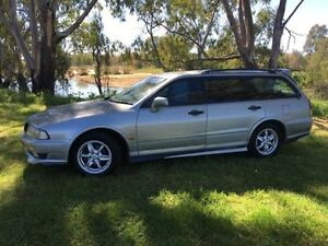 2002 Mitsubishi Magna TJ Sports Silver 5 Speed Auto Sports Mode Wagon Coonamble Coonamble Area Preview