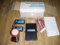 Motorcycle Alarm/electric start for sale