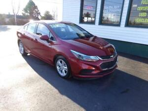 2017 Chevrolet Cruze LT for only $153 bi-weekly all in!