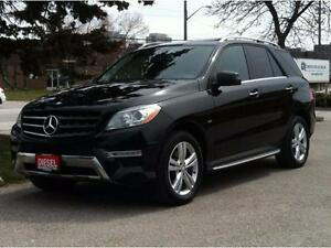2012 MERCEDES BENZ ML350 DIESEL - NAV|CAM|BLIND SPOT|PADDLESHIFT
